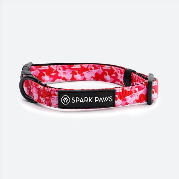 Shark Monster Collar - Pink Camo