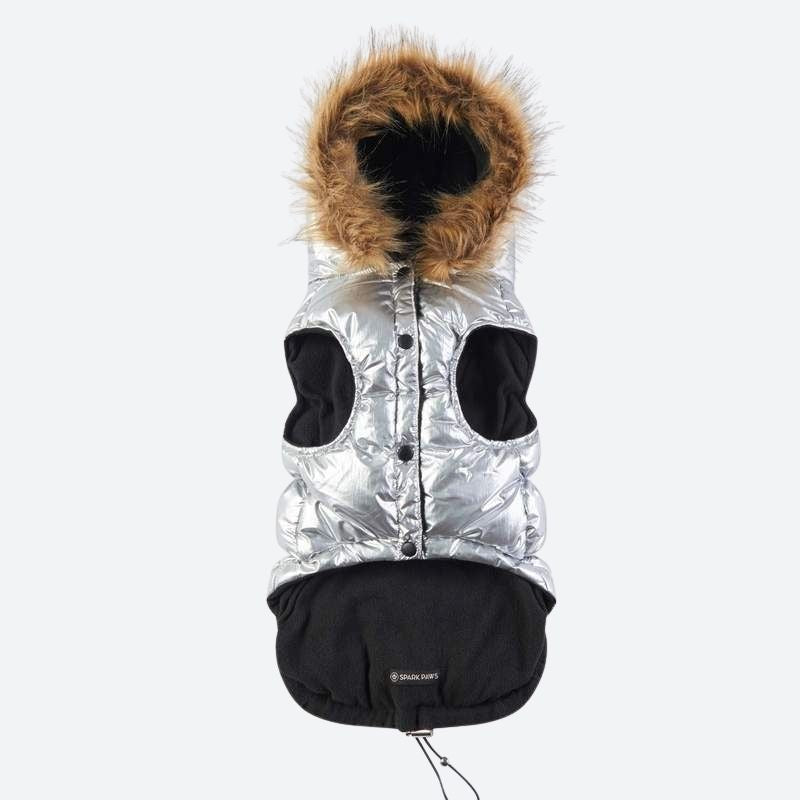 Ultra Down Puffer Jacket - Silver