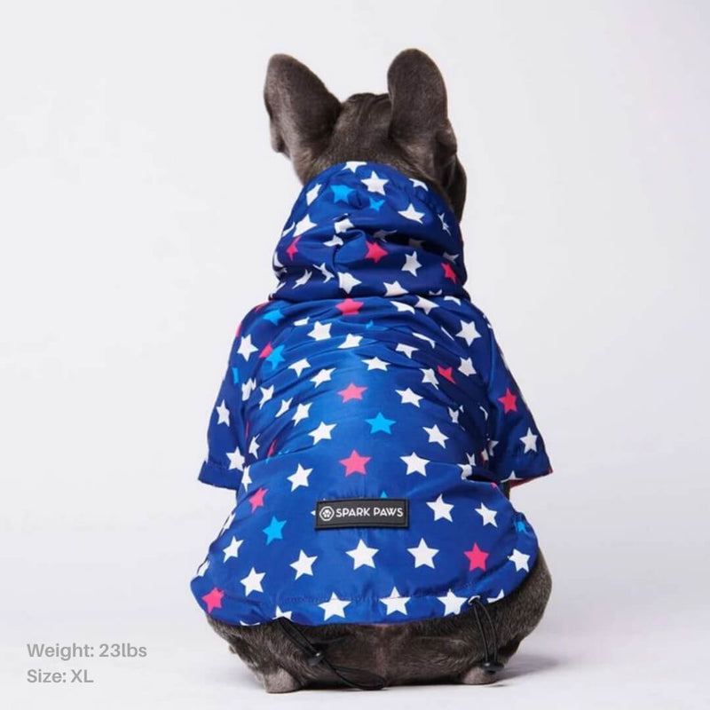 All-Star Reflective Dog Raincoat