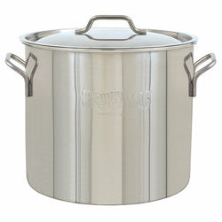 Bayou Classic Brew Kettle, 20 quart, Stainless Steel