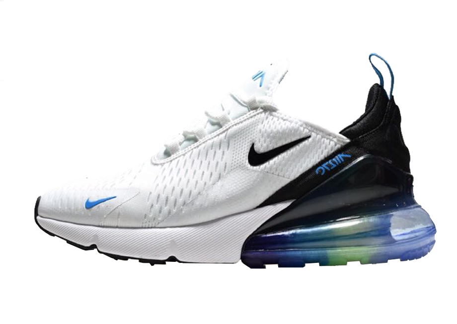 nike air max 270 blanco azul