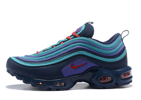 Nike Air Max 97 Plus azul y moradas - NIKEALWAYS