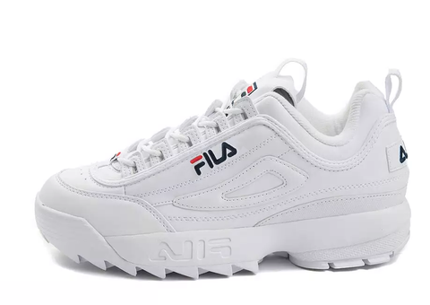 FILA DISRUPTOR ALL WHITE - NIKEALWAYS