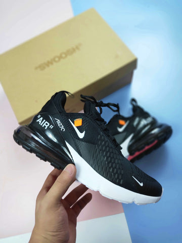 "NIKE Air Max 270 x OFF WHITE ""BLACK"" - NIKEALWAYS"