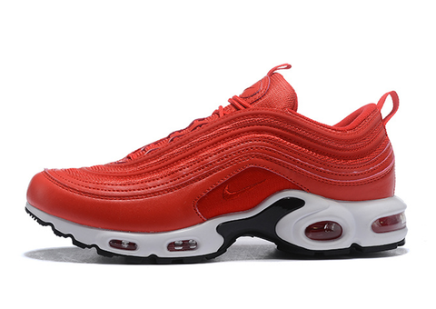 Nike Air Max 97 Plus rojas suela blanca - NIKEALWAYS