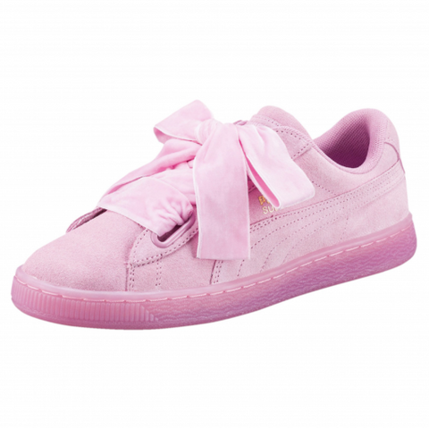 PUMA SUEDE HEART ROSAS - NIKEALWAYS