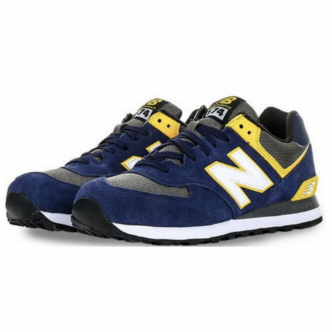 NEW BALANCE 574 AZULES - NIKEALWAYS