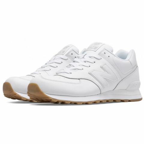 NEW BALANCE 574 BLANCAS - NIKEALWAYS