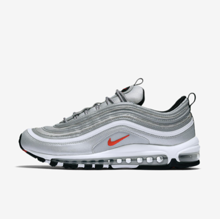 "NIKE AIR MAX ""97"" SILVER - NIKEALWAYS"