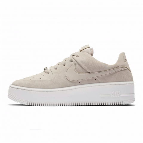 NIKE AIR FORCE SAGE LOW BEIGE - NIKEALWAYS