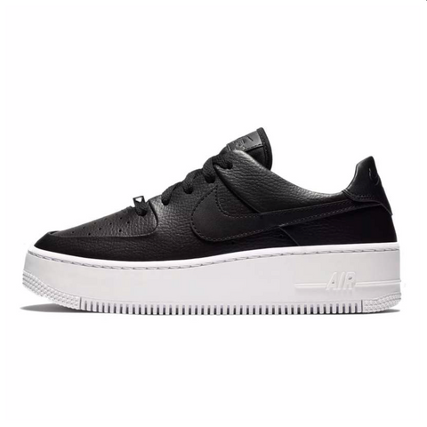 NIKE AIR FORCE SAGE LOW NEGRAS - NIKEALWAYS