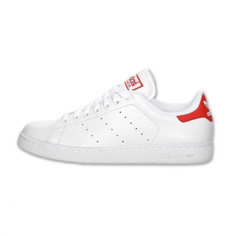 ADIDAS STAN SMITH BLANCAS Y ROJAS - NIKEALWAYS
