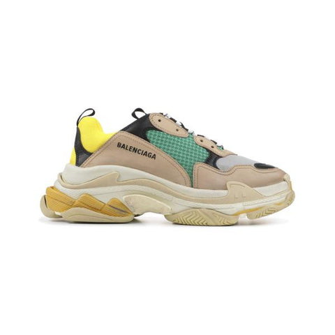 Triple-S BEIGE GREEN YELLOW