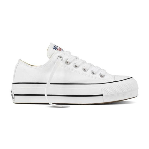 Converse All Star plataforma blancas - NIKEALWAYS