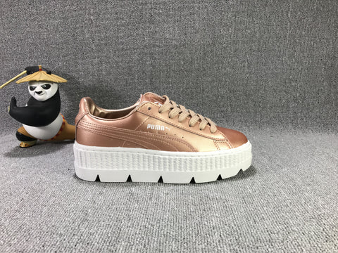 PUMA CLEATED CREEPER ROSE/GOLD - NIKEALWAYS
