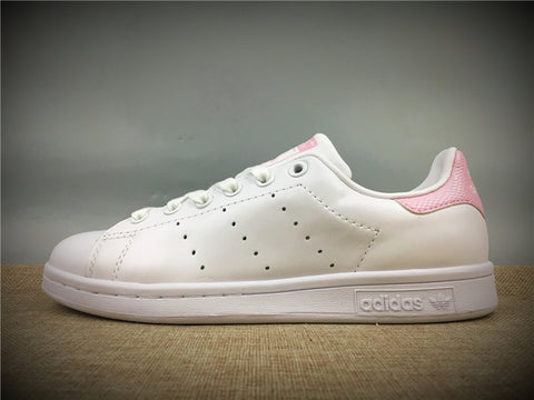 ADIDAS STAN SMITH BLANCAS Y ROSA - NIKEALWAYS