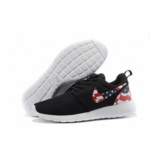 NIKE ROSHE RUN USA FLAG NEGRAS