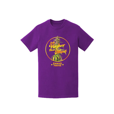 "Enemies Forever™️ ""Higher Than Most"" T shirt (Purple)"