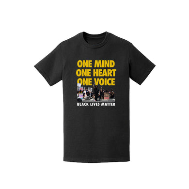 "Enemies Forever™️ ""One Mind, One Heart, One Voice"" T shirt (Black)"