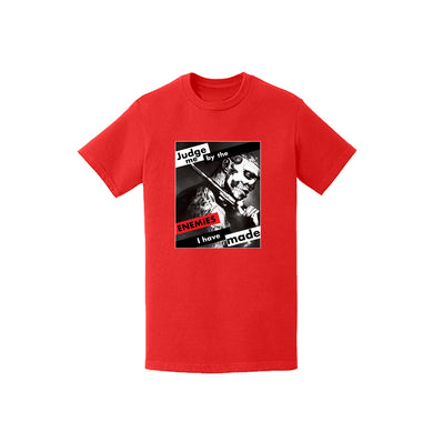 "Enemies Forever™️ ""Judge Me"" T shirt (Red)"