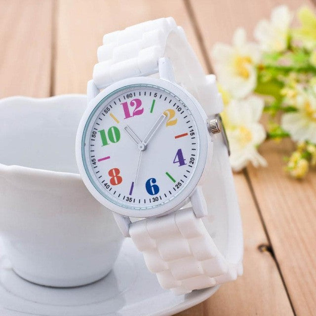 b3d6824c0b6d 2017 New Arriva Women Silicone Watch For Students Girls Quartz Watches  Reloj Pulsera Mujer Analog Sports