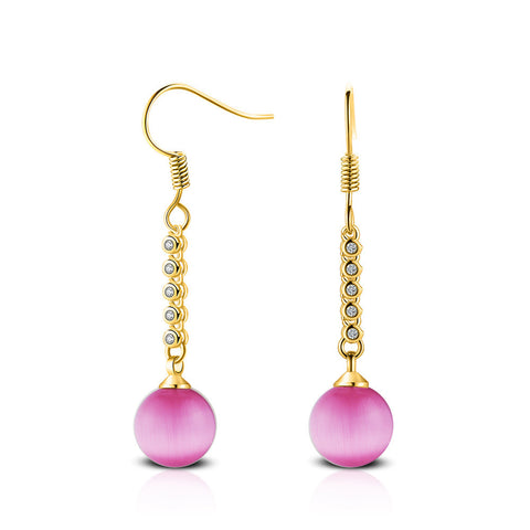 Women Pearl Stud Earring Earrings charming Dangle Earring PK