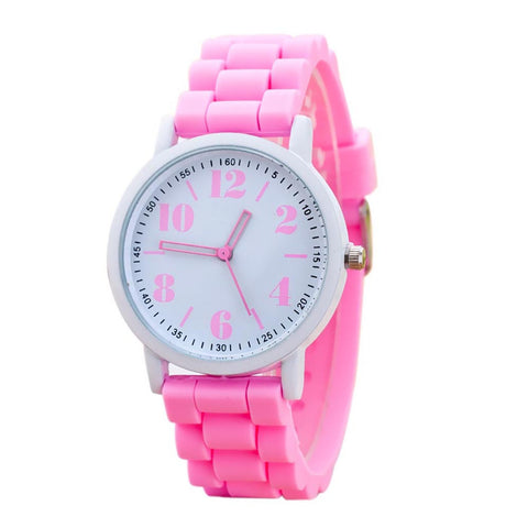 2017 New Arriva Women Silicone Watch For Students Girls Quartz Watches Reloj Pulsera Mujer Analog Sports Womens Watches