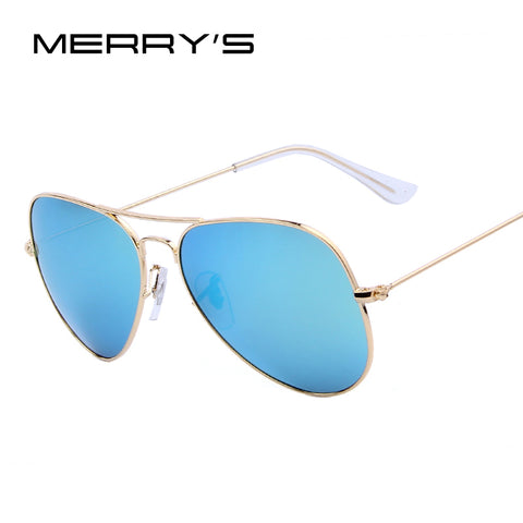 MERRY'S Men Brand 100% Polarized Sun glasses Luxury Unisex Sun glasses Mirror Lens High quality Fashion Women Sun glasses