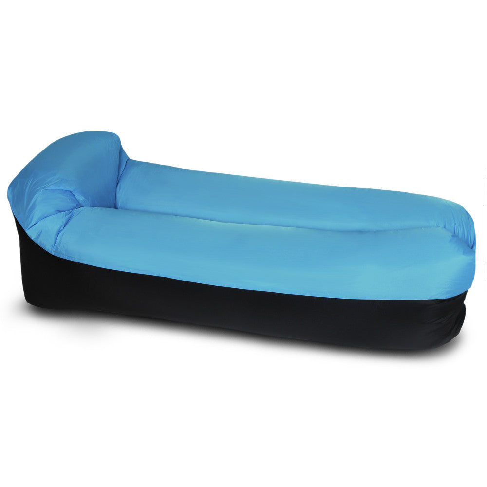 Inflatable Lounger Portable Air Beds Sleeping Sofa