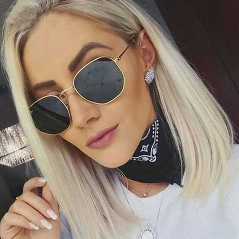 Vintage Retro Rounded Sunglasses