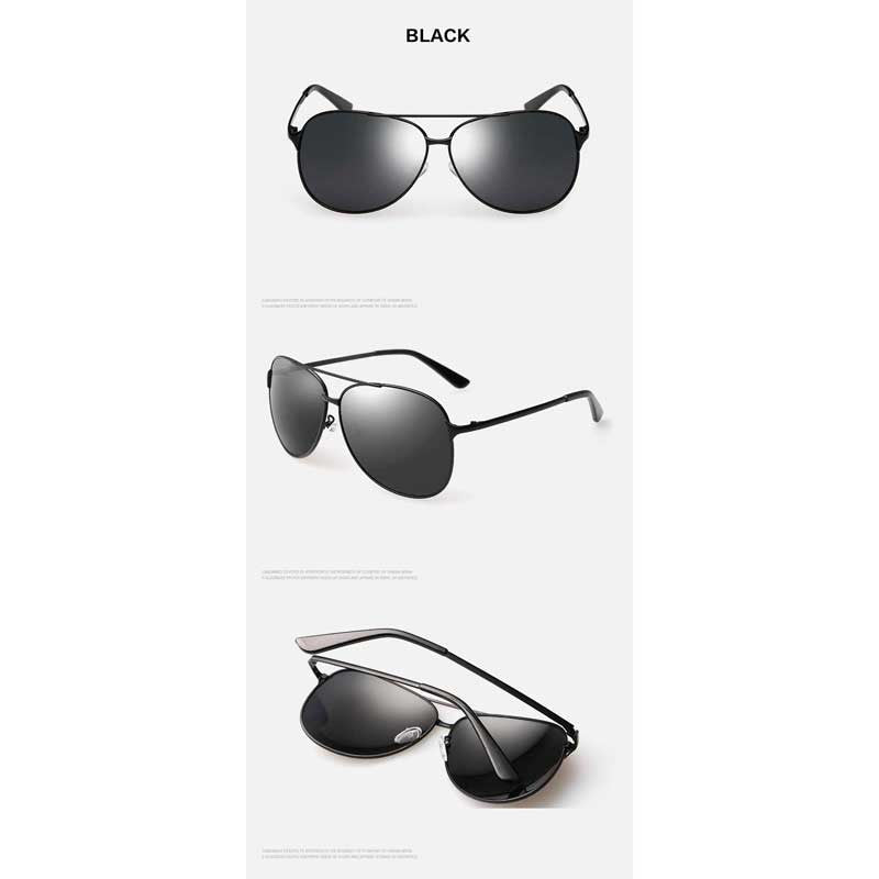 Mens Sunglasses Brand Designer Polarized Pilot Driving Glasses Male Vintage Sun glasses for Male Fashion Retro Shades UV400