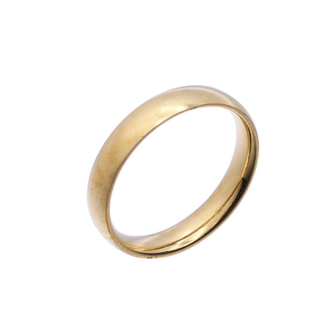 Simple Fashion Smooth Ring Single Index Finger Ring for Women Men