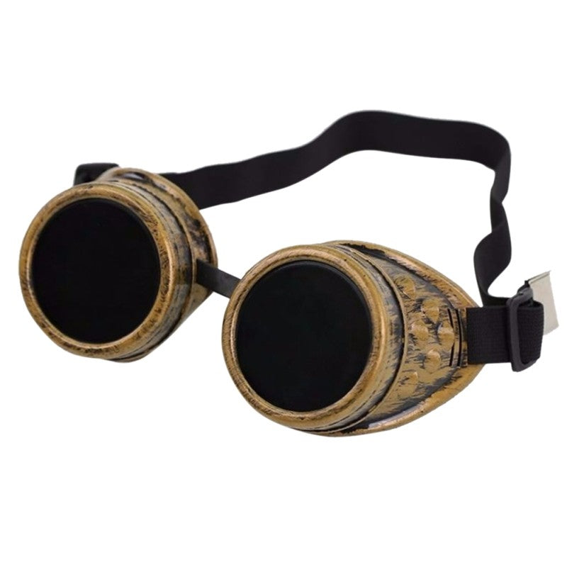 Men Fashion Steampunk Sunglasses Welding Punk Gothic Glasses Cosplay