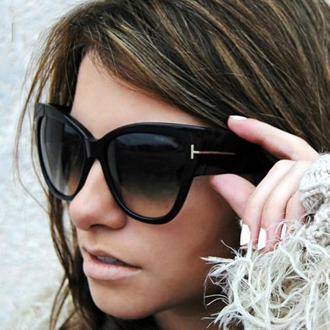 Luxury Cat Eye Women Sunglasses