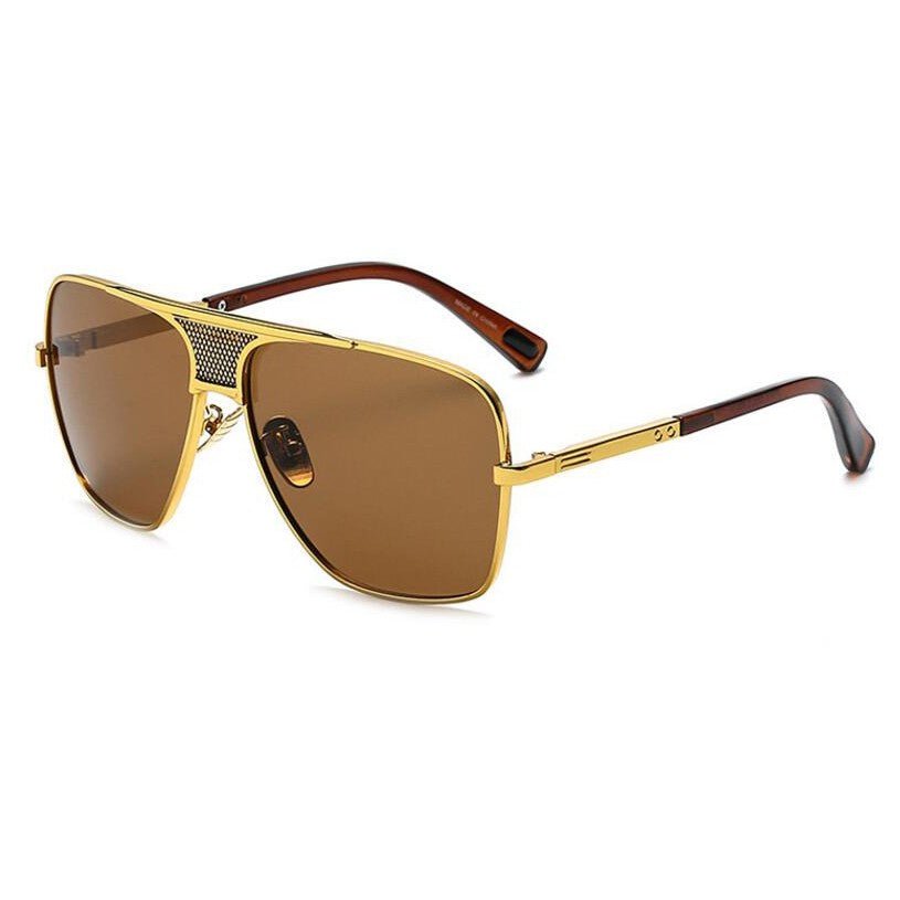 New Designer Men Women Sunglasses Metal Frame Vintage Eyewear xx476