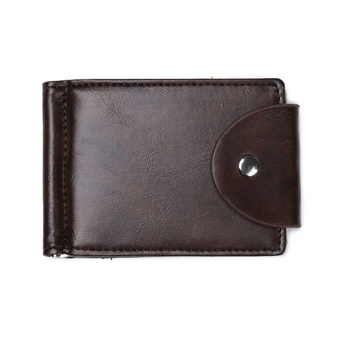 Mens Slim Front Pocket Wallet ID  Card Case Bi-fold Wallet Slim Wallets for Men