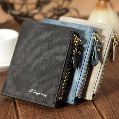 Wallet Men Soft Leather Wallet Card Slots Multifunction Wallet Purse Clutch