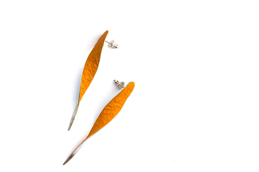 SugarTwist earrings - Sahara Yellow