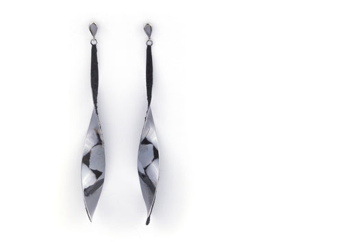 Tinkle Long earrings, black