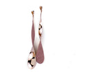 Tinkle Long earrings, rose