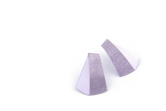 Koi earrings- lilac