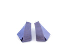 Koi Kawarimono earrings- purplish blue
