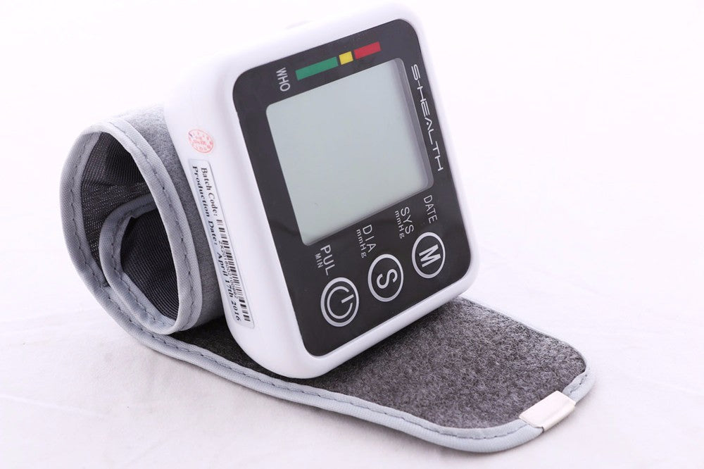 2019 Digital Wrist Blood Pressure Monitor