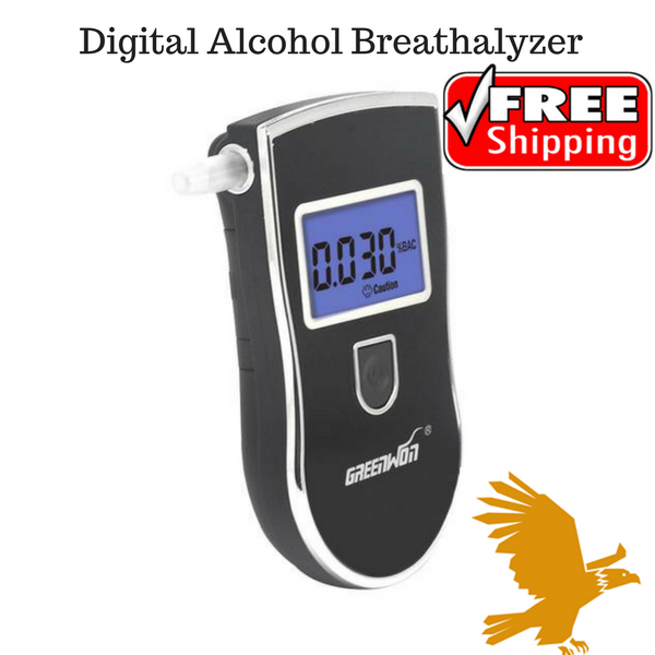 The Digital Alcohol Breathalyzer