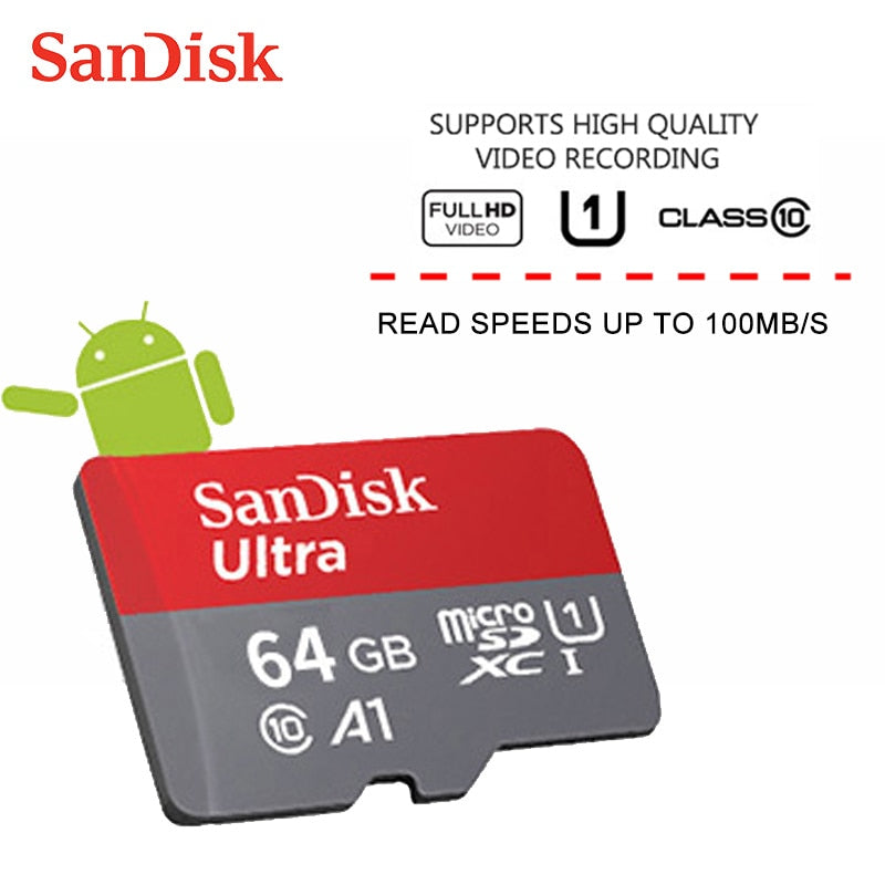 A+ SanDisk Micro SD Memory Card