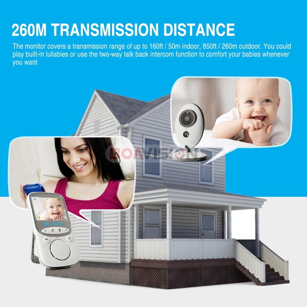 A+ Wireless LCD Radio Video Baby Monitor