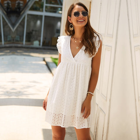 Butterfly Dream Lace Dress