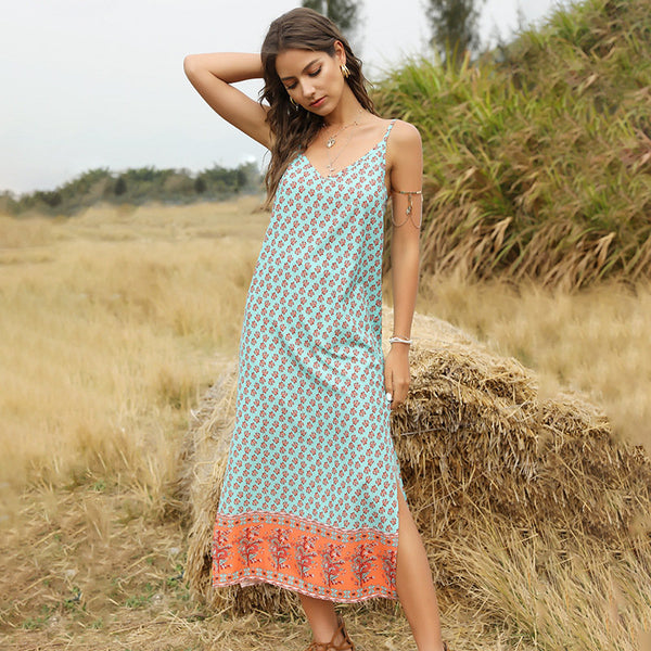 Holiday Breeze Spaghetti Strap Dress