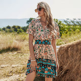 Sunset Moon Bohemian Dress