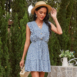Sunny Day Sleeveless Mini Dress